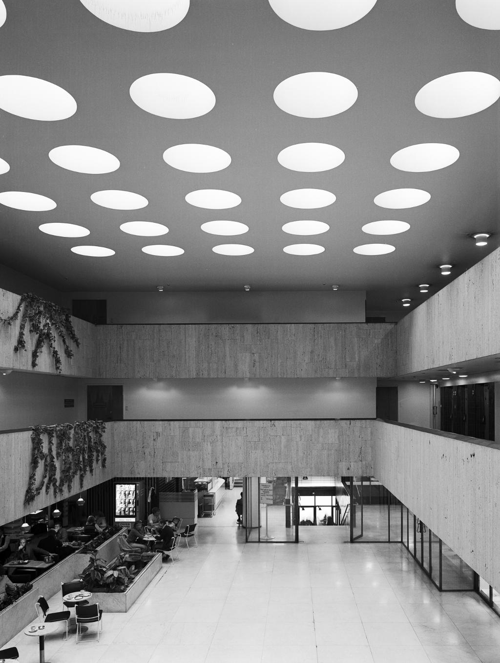 History Of Rautatalo Building Rautatalo By Alvar Aalto
